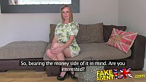 FakeAgentUK Angry husband interrupts agent fucking dirty wifes pussy porn videos
