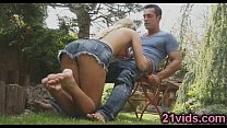 Ivana Sugar hot outdoor fuck