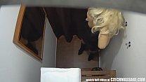 Beautiful Big Tits Blonde on Czech Massage porn videos