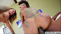 Ladies Juelz and Bella enjoys anal ramming with...