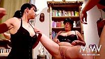 threesome lesbian amateur german films Mmv