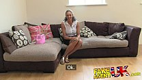 FakeAgentUK Ebony fresh MILF fucks and cums all over casting couch porn videos