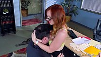 work at pounded gets jensen dani - Brazzers