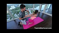 trainer! yoga her by destroyed teen Fit