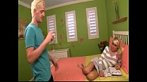Stepmom helps her son porn videos