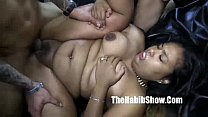 mixed thick phat pussy rican and dominican gangbang dominican bbc
