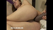 Milly has both tight holes filled by massive di...