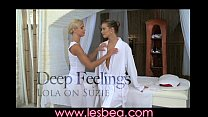 client massage on pussy and body oiled her rubs teen blonde cute Lesbea