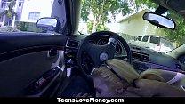 TeensLoveMoney - Teen Gets Fucked In Public For Cash porn videos