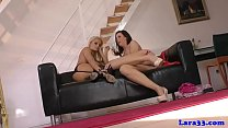 Heeled british milf pussylicked and toyed