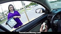 TeensLoveMoney - Fundraising Money For A Car Quickie! porn videos