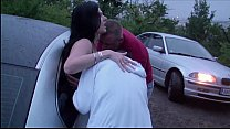 girl pregnant a with foursome dogging public Extreme