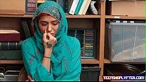 Hot Muslim Teen Shoplyfter Caught & Harassed