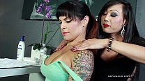 venus lux and ts foxxy suck each others cocks