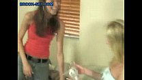 Teen-Lesbo-First-Strap-On