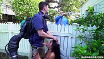 Backyard Interracial