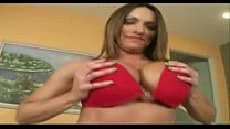 soccer mom with big natural breasts dancing in ...