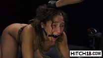 Teen Abella Danger got mouth fucked in bondage action