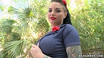 Pin up girl Christy Mack