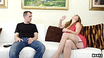 pounding a takes moore allison step-mom Thick