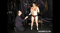 Tigers tit torment and extreme japanese bdsm movies of busty nipple punishments porn videos
