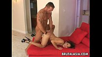 good pumped pussy her gets whore asian Busty