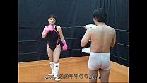 MLDO-056 Human sandbag for woman martial artist...