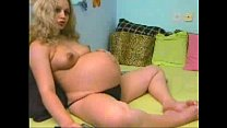 pregnant blonde will pop any minute - PregnantH...