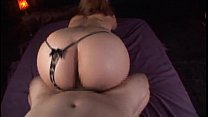 Big Ass Asian Woman Oils Herself Up & Treats A ...