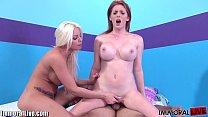 ImmoralLive Big boobs newbie sluts in a porn li...