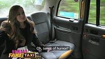 Female Fake Taxi Redheads tongue makes pretty p... thumb