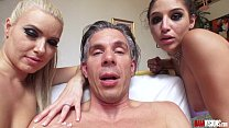 anikka albrite and abella danger   behind the scenes