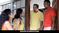 daughterswap   creepy dads film daughters porn audition