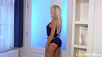 Incredible solo action with the busty Caylian C...