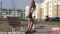 Come outside and watch me flashing people my pa...