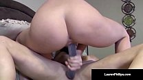 Redhead Lauren Phillips Gets Anal Instruction b... thumb
