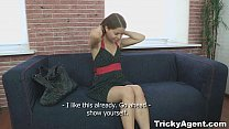 Tricky Agent - A girl in a tube8 black dress xv...
