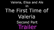 The First Time Of Valeria Part 2 - 2 Girls vs 1 Slave porn videos