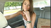 Tight teen Kirsten Lee convinced to get banged ... thumb