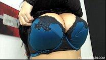 Euro Plus Sized Beauty Anastasia Lux Makes Plum...