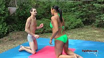 mx 02 tia vs sunny competitive mixed wrestling