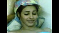 arab girl with beautiful cream tits