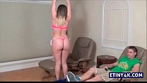 sexy teen teasing her step brother