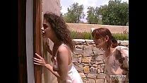 Katalin & Melinda in an Anal Trio thumb