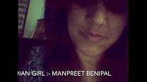 Desi Punjabi Girl Manpreet Showing Herself on Cam