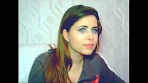 YouTube - Beautiful french brunette cam girl thumb
