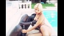 dude black by fucked shemale Blonde