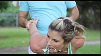 puremature   gorgeous athletic cory chase is fucked after her workout