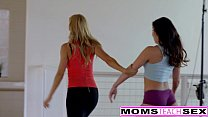 milf alexis fawn squirts hard for step son and gf