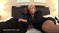 Old mature mommy banged